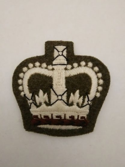 WO2 Warrant Officer Class 2 Khaki Sew on Patch