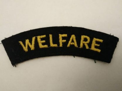 WW2 Civil Defence service Welfare Patch original