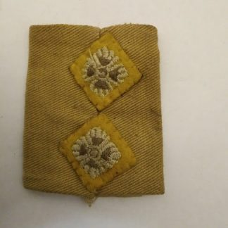 WW2 Desert Campaign Lieutenant slide on rank
