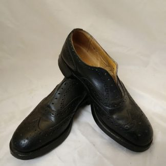British Army Brogues Highland Scottish Black