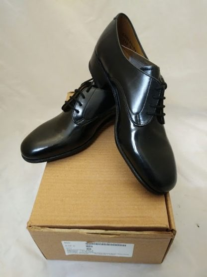 Shoes service black leather working women Gibson shoes NEW British Military
