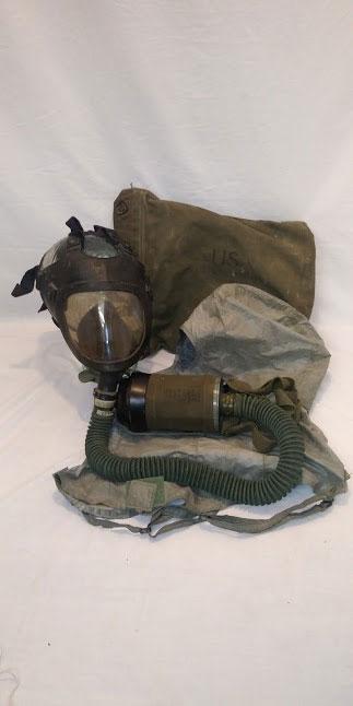 US M25A1 tank gas mask