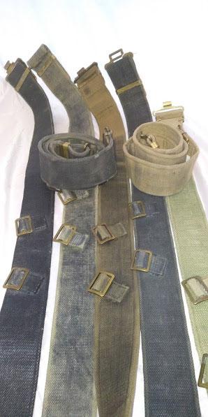37 pattern webbing belt