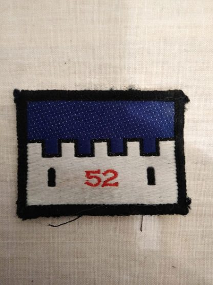 52nd Infantry Patch
