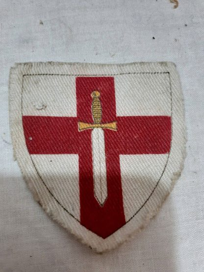 British 1st Army divisional formation patch