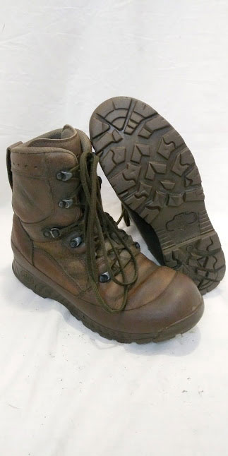 British Army HAIX LEATHER boots