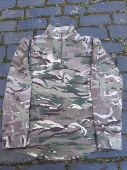 British Army desert camo UBAC Shirt