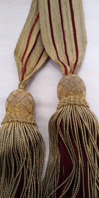 Ceremonial Waist sash from Royal Company of Archers