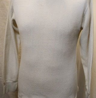 Extreme cold weather thermal undershirt
