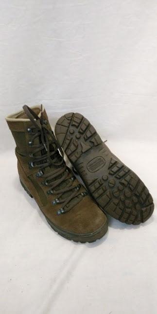 British Army Meindl desert boots