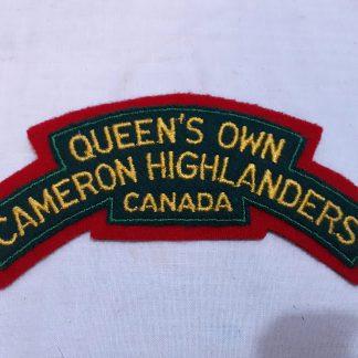 Queen's Own Cameron Highlanders Canada
