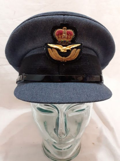 RAF officers peaked cap