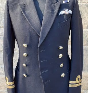 Royal Navy Officers jacket with Fleet air arm wings