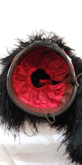Scottish military pipers Feather Bonnet Scottish Highland dress