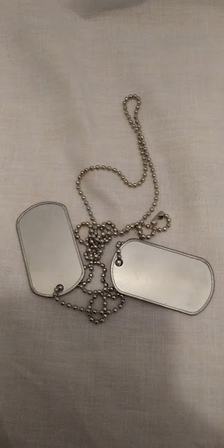 army military identification dog tags