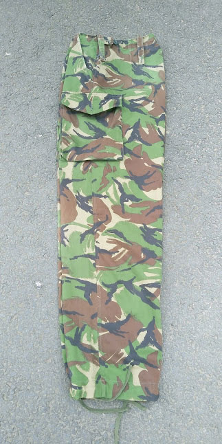 British Army Woodland DPM trousers